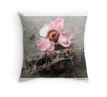 Insect Wake Throw Pillow