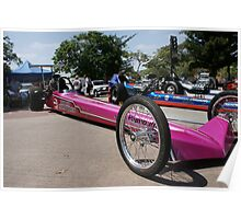 11th Annual Uptown Whittier Car Show; CA USA Poster