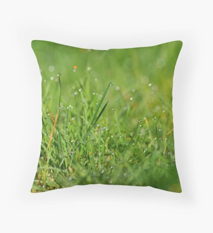 Green & Pleasant Land Throw Pillow