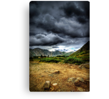 When the Thunder Comes Canvas Print