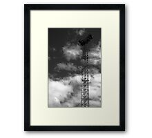 Light Tower Framed Print