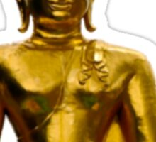 gold buddha Sticker