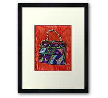 Pop Art Purse  Framed Print