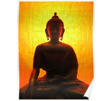 Buddha Silhouette Poster