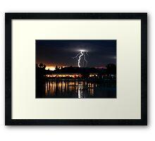 Lightning Bolt Framed Print