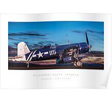Corsair - Goodyear FG1D Poster