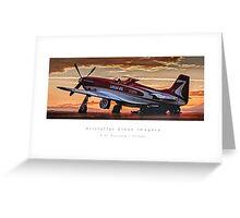 "P-51 Mustang ""Strega"" Greeting Card"