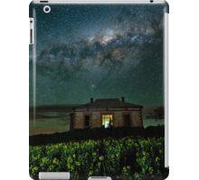 Galaxy over Homestead Ruin iPad Case/Skin