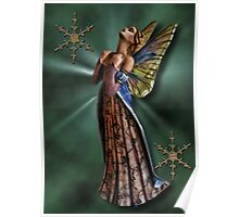 BEAUTIFUL FAIRY.. WITH THOUGHTS OF YOU.I THOUGHT LOVE WAS ONLY TRUE IN FAIRY TALES... PICTURE AND OR CARD Poster
