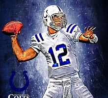 NFL Indianapolis Colts by Dan Snelgrove