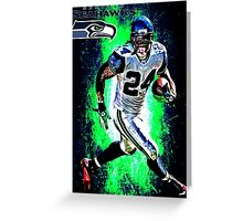 NFL Seattle Seahawks Greeting Card