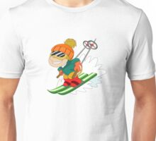Winter Sports: Skiing Unisex T-Shirt