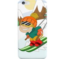 Winter Sports: Skiing iPhone Case/Skin