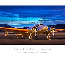 Lockheed Model 10-E Electra by KristofferGlenn