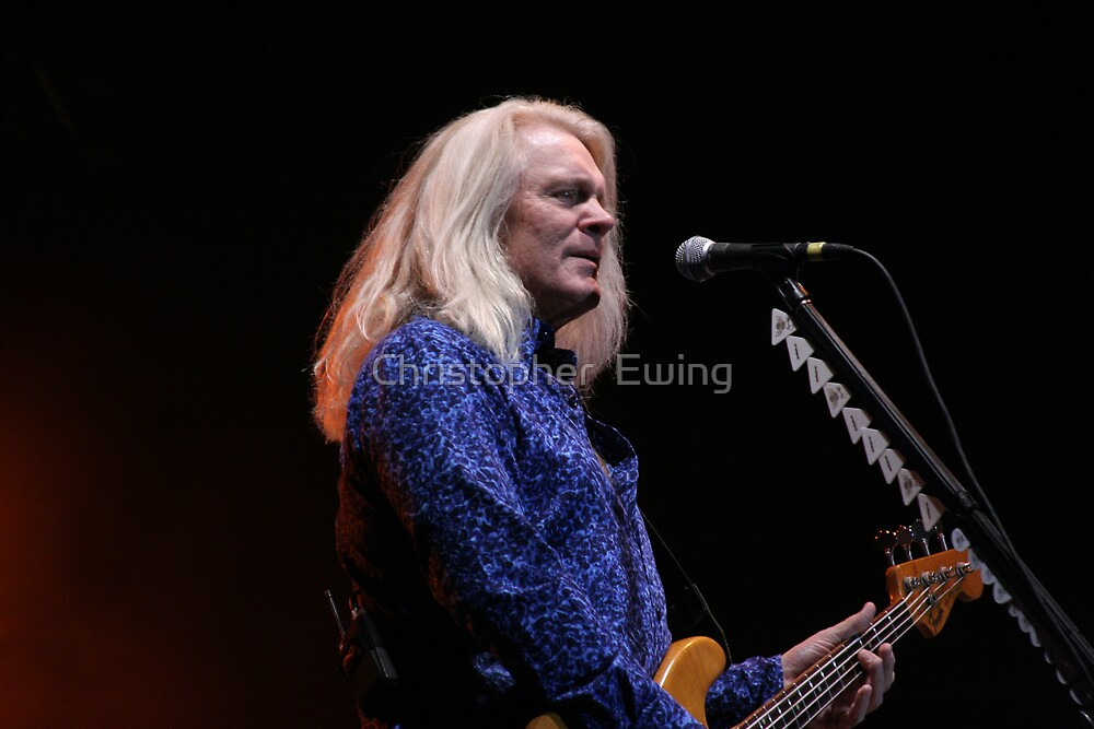 Bruce Hall of REO Speedwagon by Christopher  Ewing