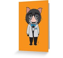 Devil In Disguise Greeting Card