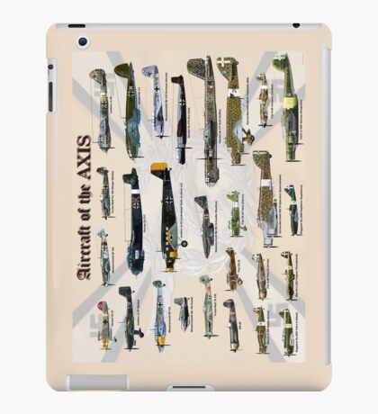 Aircraft of the AXIS iPad Case/Skin