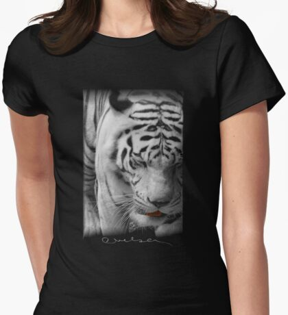 Rajah Womens Fitted T-Shirt