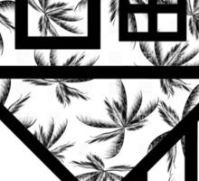 The NBHD - Palm Print w/ Text Sticker
