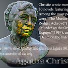 Agatha Christie  by Bob Martin