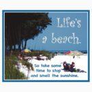 Beach by Ginny Schmidt
