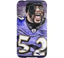 NFL Baltimore Ravens Legend Ray Lewis Samsung Galaxy Case/Skin