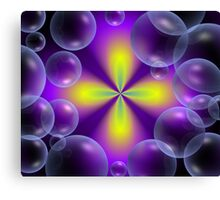 Bubble fantasy Canvas Print