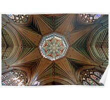 The Octagonal Lantern with Windows, Ely Cathedral Poster