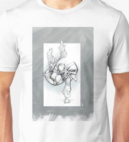 THROW 3_FADE Unisex T-Shirt