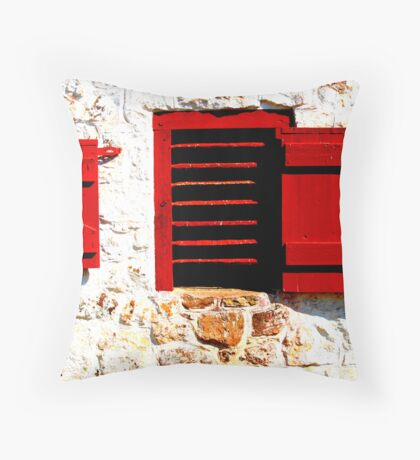 Classic Barn Throw Pillow