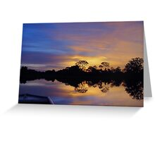 Pantanal Sunset 3 Greeting Card