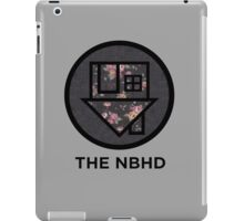 The NBHD - Dark Floral Print iPad Case/Skin