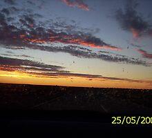 sunset on the horizon by pitbullz