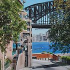 Down to the Harbour Bridge by Freda Surgenor