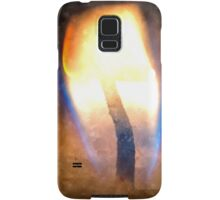 Festive candle light flame Samsung Galaxy Case/Skin