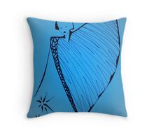 Glow Girl - Series 2 Throw Pillow