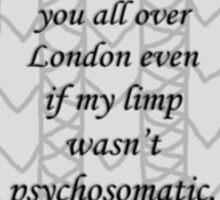 Psychosomatic Limp or Not {Jumper Design} Sticker