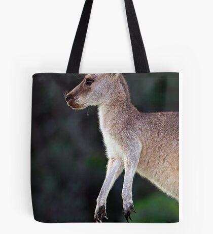 Kangaroo at Pebbly Beach Tote Bag