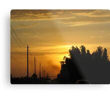 Semi Sunrise Metal Print