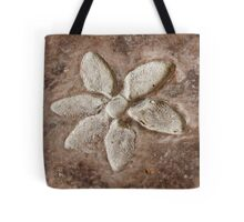 abstract flower background Tote Bag