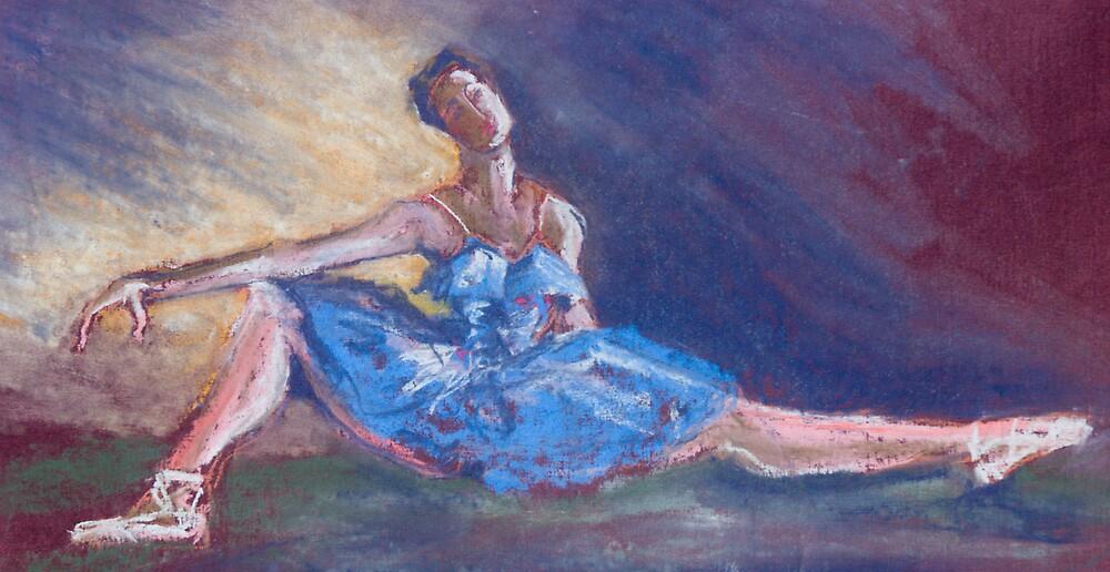 Pastel Dancer in Blue by bluerabbit