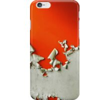 Orange Paper Peel iPhone Case/Skin