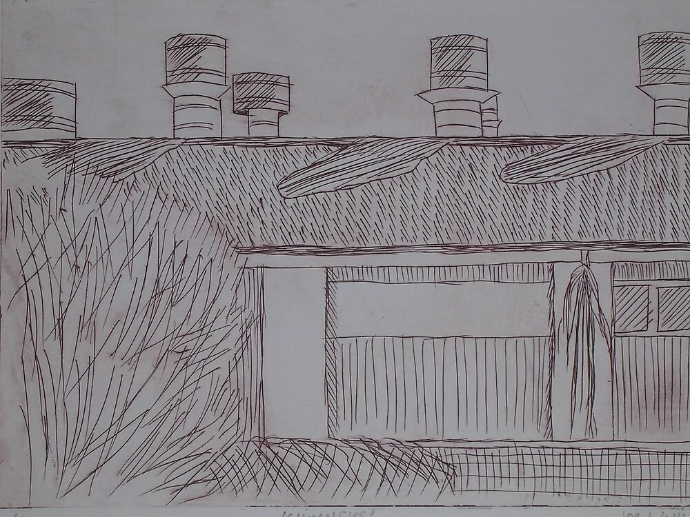 Chimneys by Joan Wild