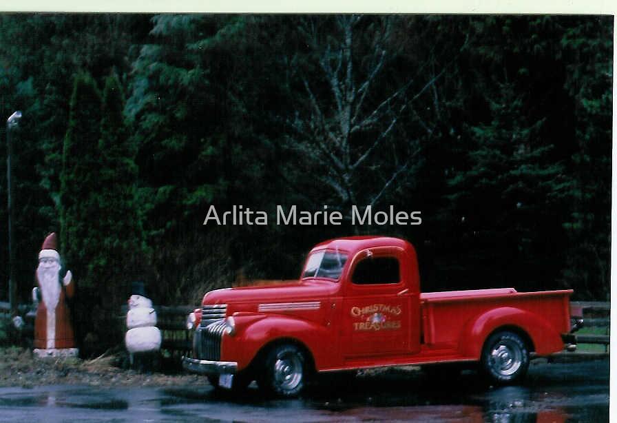 Classic Truck by Arlita Marie Moles