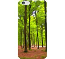 Beautiful lush Forest landscape iPhone Case/Skin