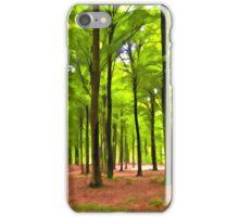 Beautiful lush Forest landscape iPhone Case/Skin