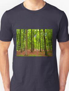 Beautiful lush Forest landscape T-Shirt