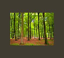 Beautiful lush Forest landscape Unisex T-Shirt