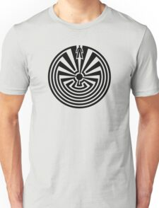 Man in the Maze, Journey through life, I'itoi, Papago Unisex T-Shirt