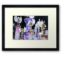 carneval is for the ladies, too Framed Print